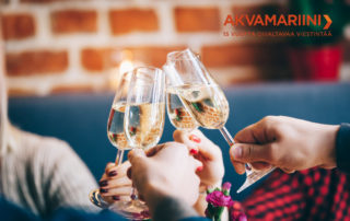 Akvamariinin juhlavuosi käynnistyi vastuullisuusviestinnän teemalla